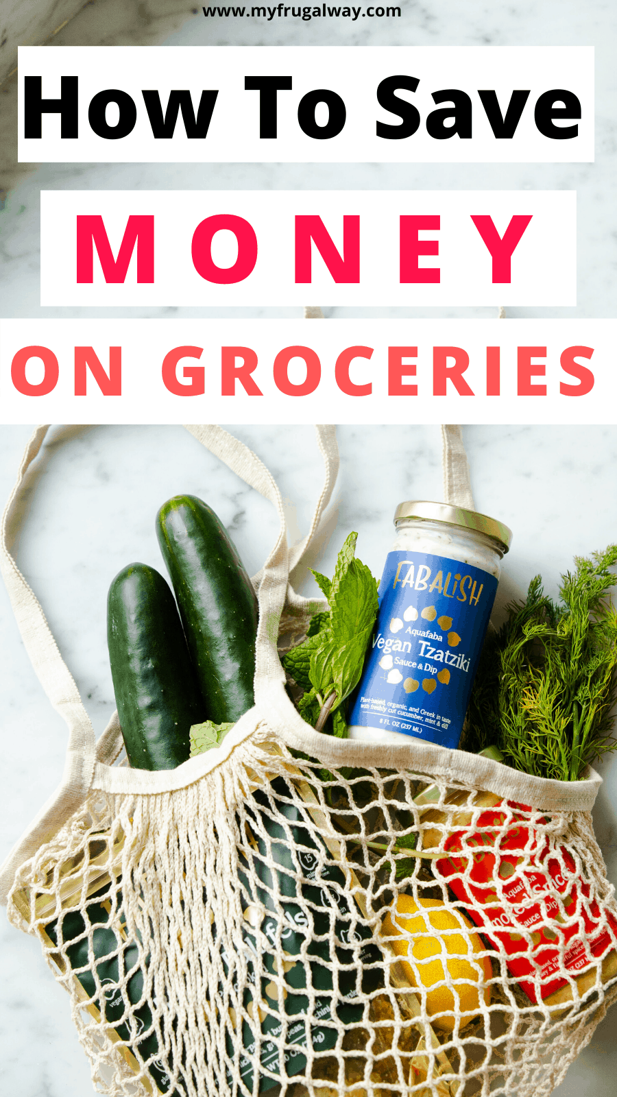 Frugal living tips to save money on groceries. Best tips for grocery shopping on a budget. #mealplanning #finance #savemoney