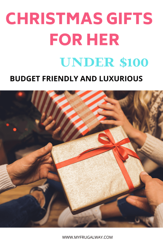BUDGET FRIENDLY CHRISTMAS GIFTS FOR HER. Best holiday gift guide for women