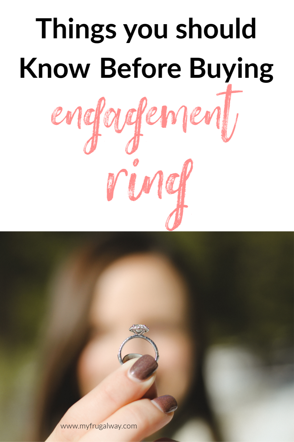 how to save money when buying engagement ring