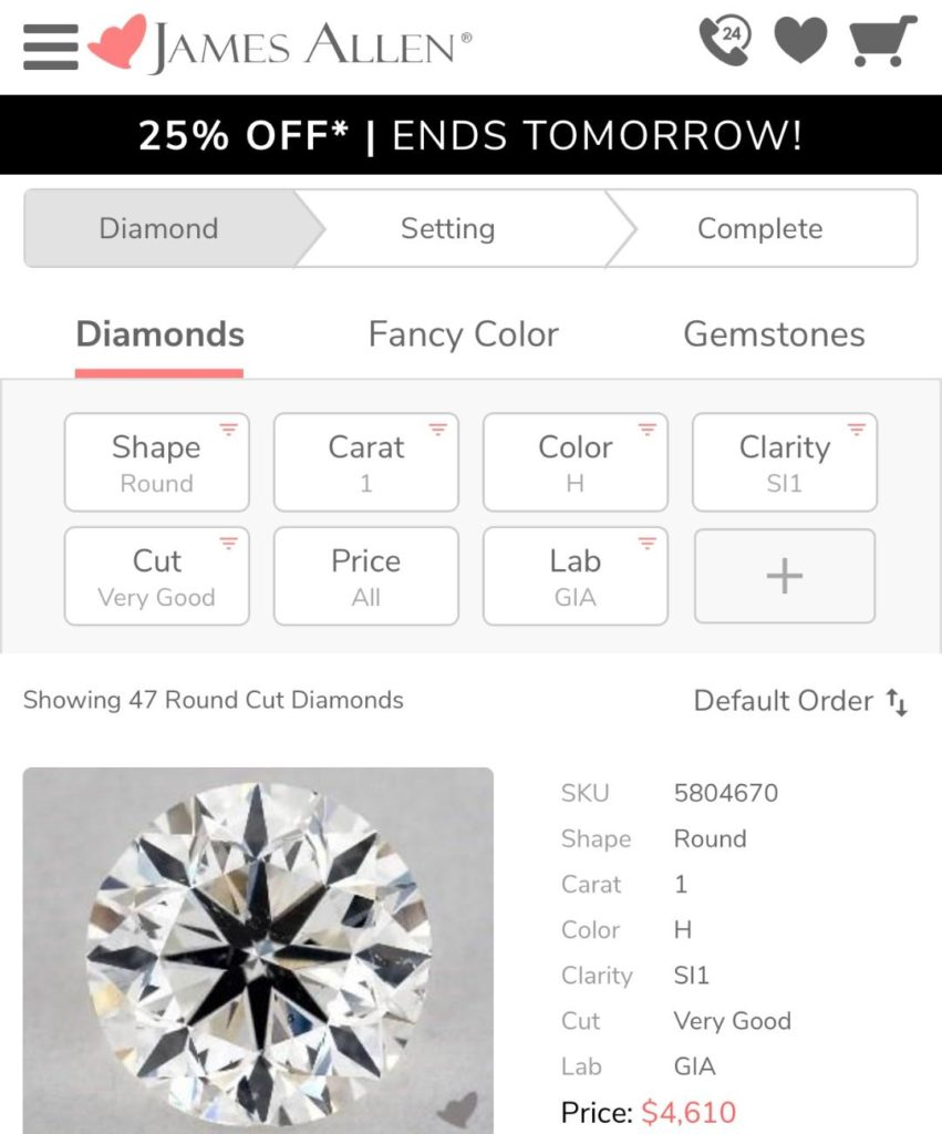 how to save money when buying diamond ring