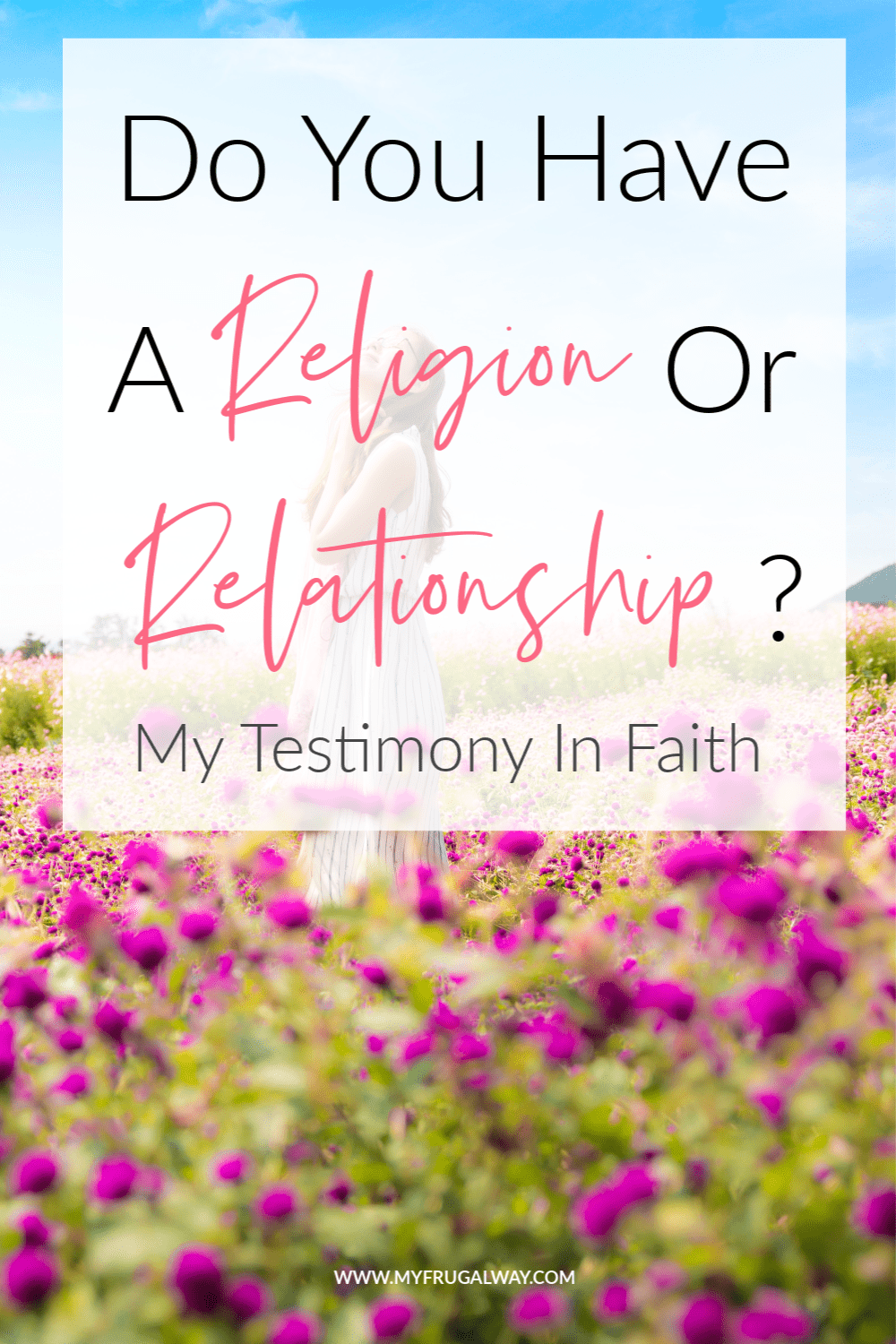 Jesus wants a personal relationship with you over religion. My testimony of faith in Christ . Build a relationship with god,religion sets rules but Jesus sets you free.