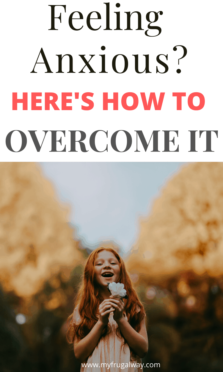 Are you feeling anxious? Especially right now, seems like everything we knew is changing. Learn how to overcome fear with faith over fear. Christian tips to help you overcome fear of uncertainty. #faith #christianblogger #thoughts #inspiration #personaldevelopment