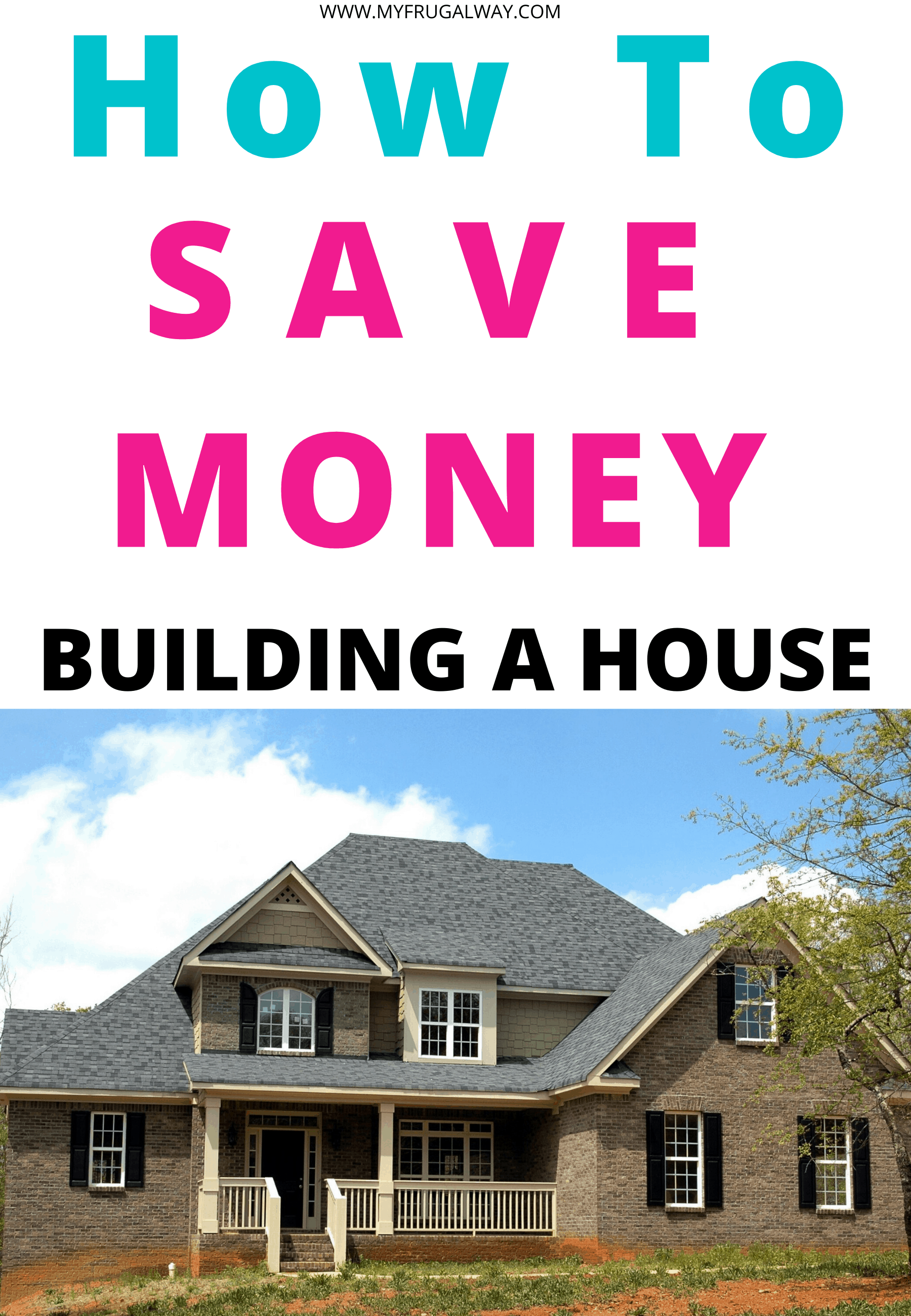 Budgeting tips when building a house. Looking for tips to save money for dream home? These smart money saving tips will help you ti design your dream home and not break the bank. #dreamhome #homebuilding #budget