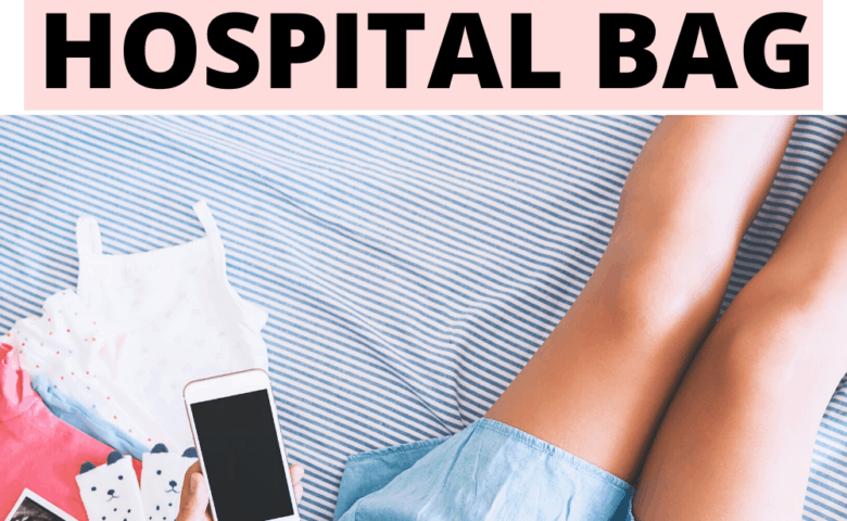 Hospital bag essentials to pack for mom to be. Deciding what to pack in your hospital bag for labor, This minimalist checklist will help you decide what to pack in the hospital bag for mom and baby. #postpartum #firstmom #laboranddelivery #whattopack #momlife #parenting