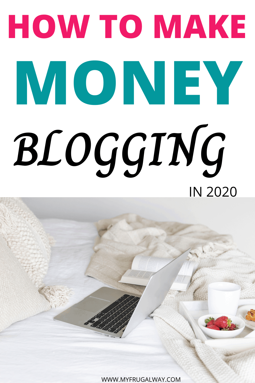 Are you wondering how bloggers make money? Read this article to find how to make money blogging for beginners fast. Learn how you can make money in 2020 with affiliate marketing for passive income. #blogging #wordpress #beginners #startablog